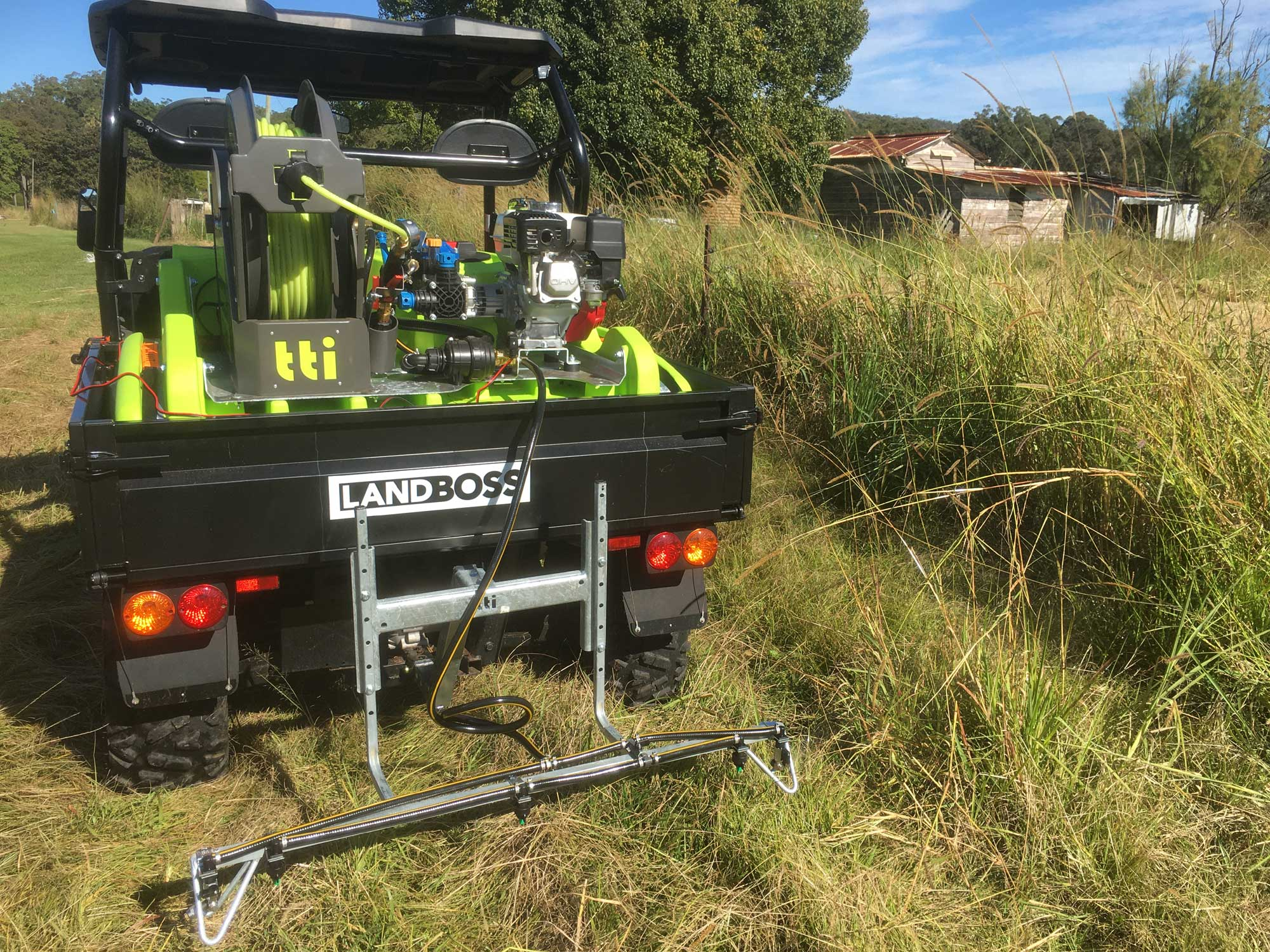 Small Acreage Weed Control Services